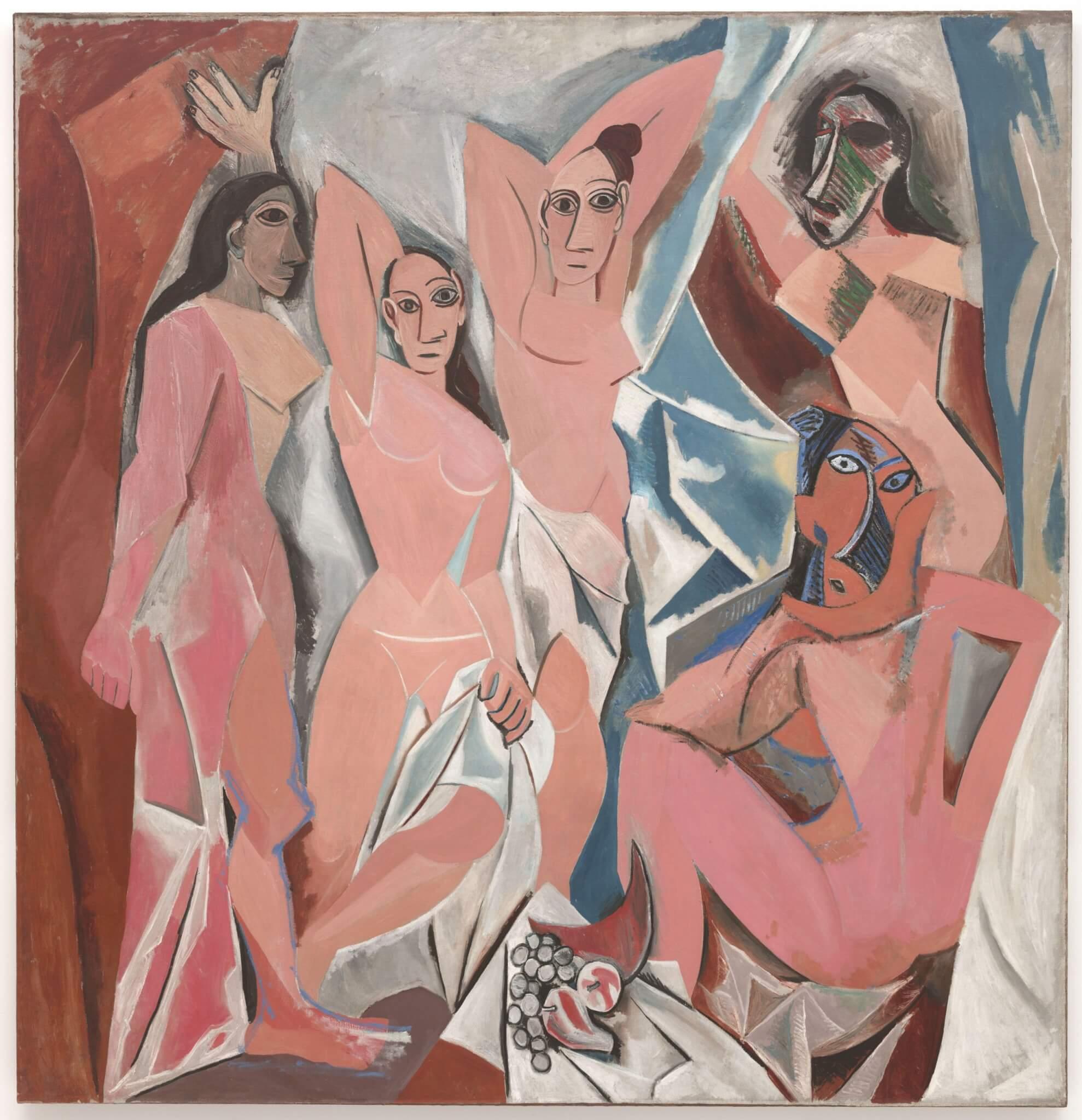 Las señoritas de Aviñón, 1907 - Picasso - Cubismo