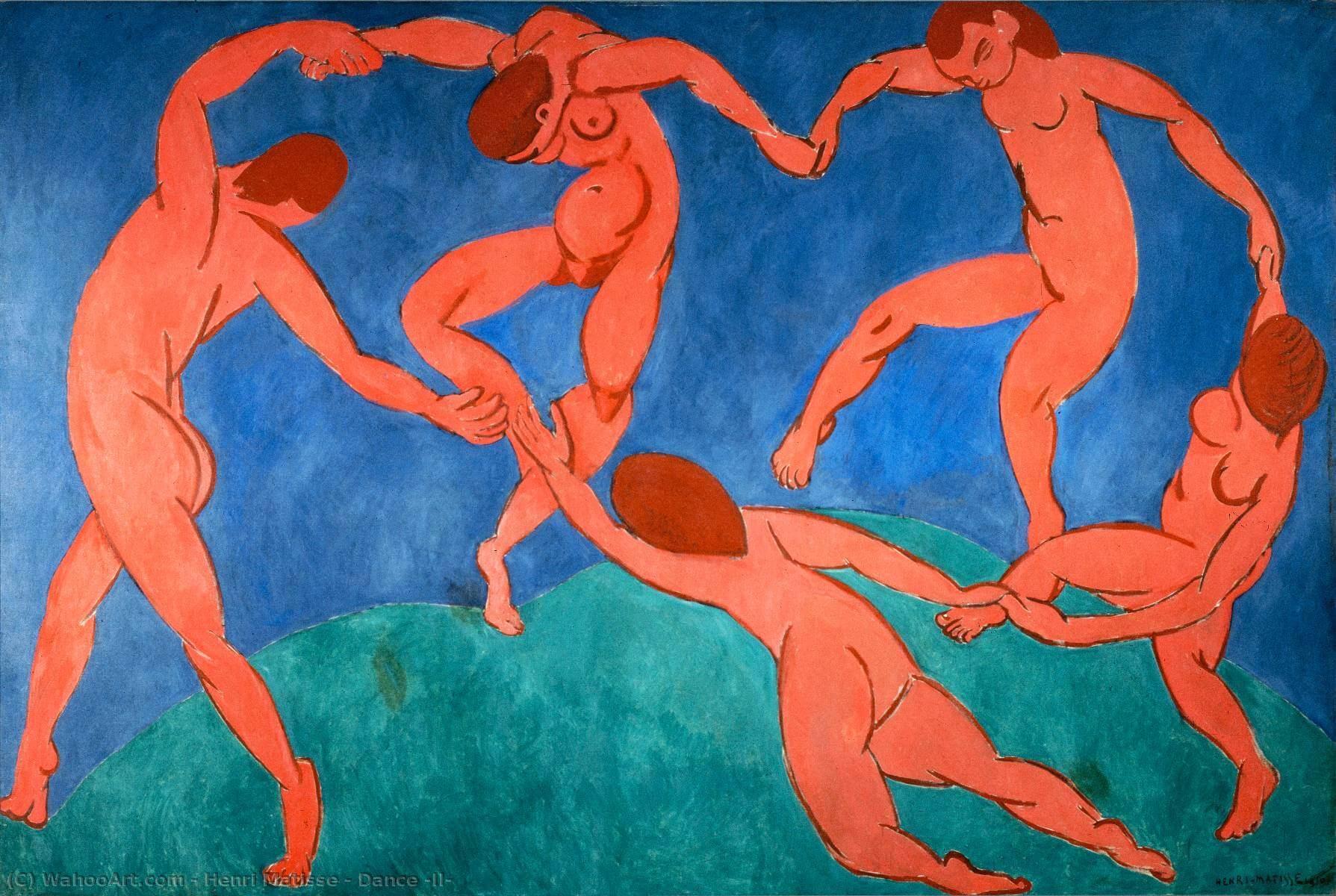 La danza II, 1909 - Henry Matisse - Fauvismo