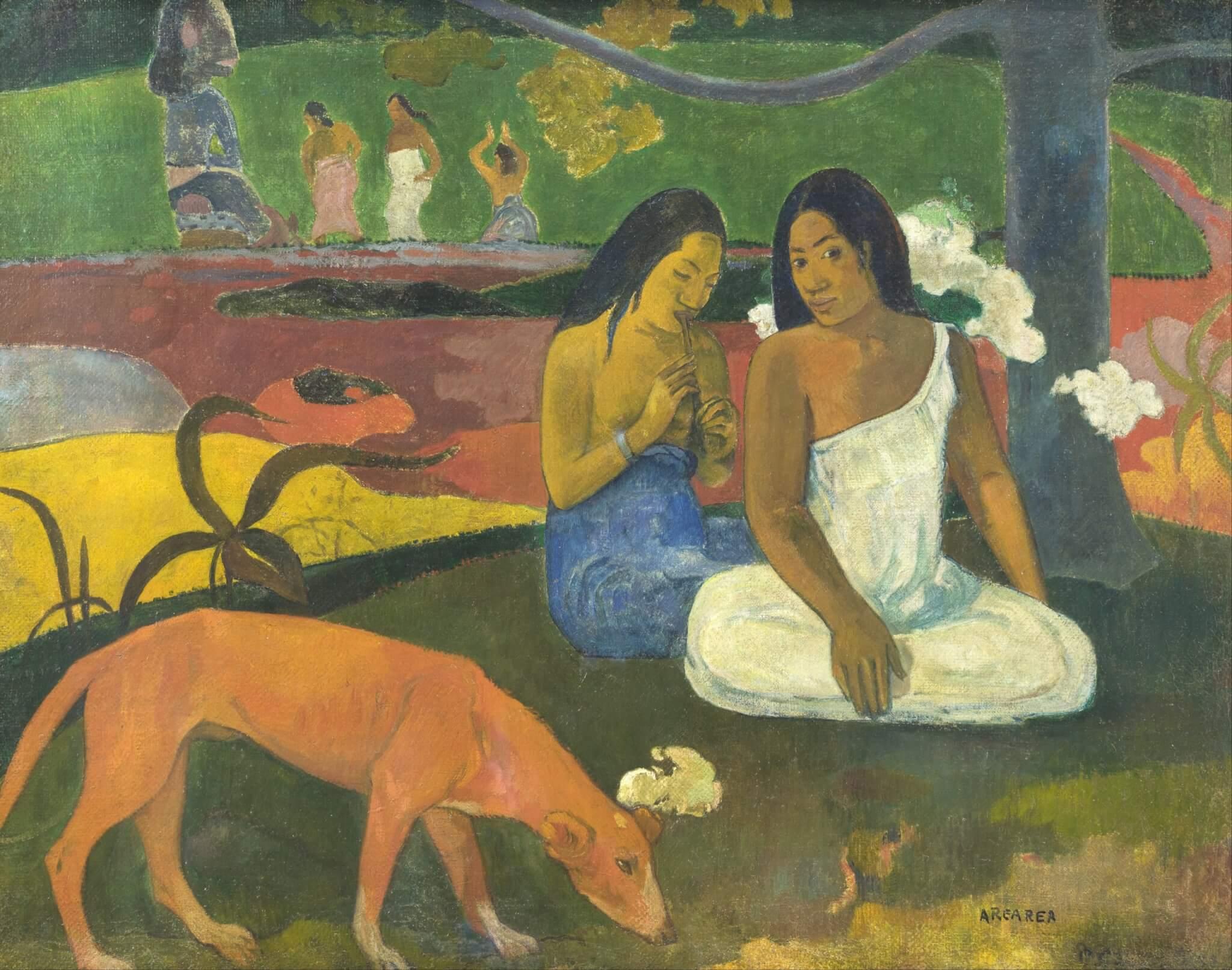 Arearea, 1892 - Paul Gauguin - Primitivismo
